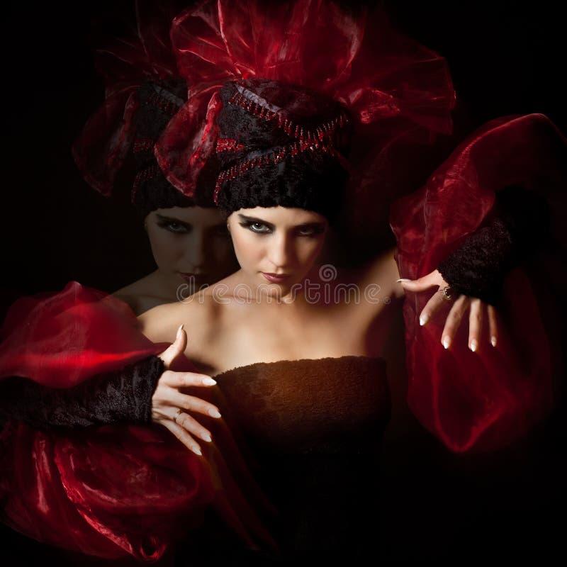 Femme fatale royalty-vrije stock foto