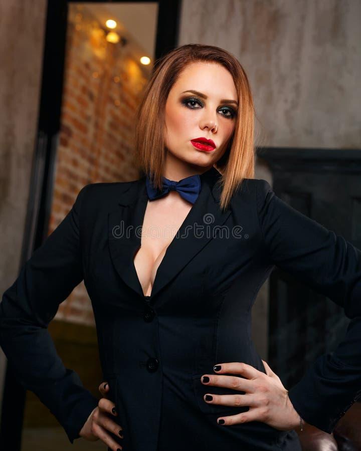 Femme fatale stock foto