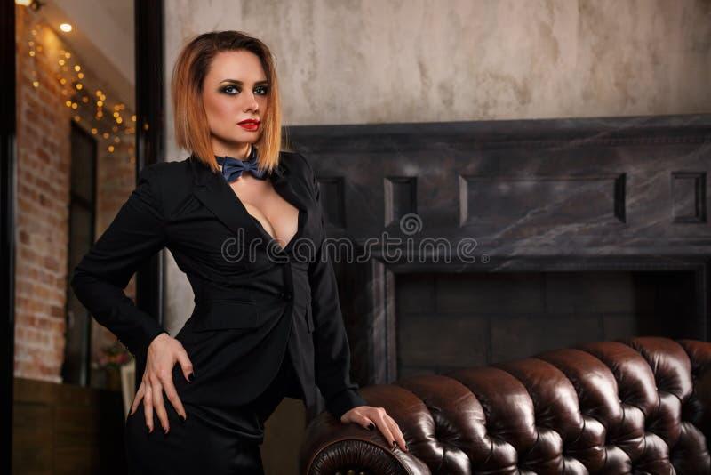 Femme fatale stock fotografie