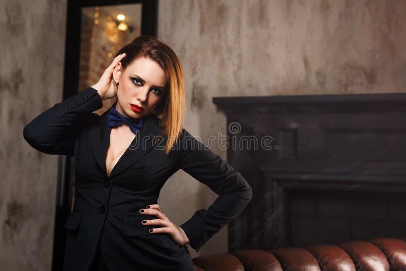 Femme fatale royalty-vrije stock afbeeldingen
