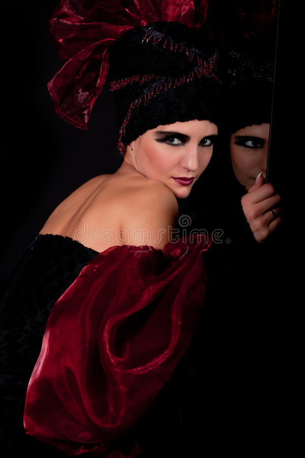 Download Femme Fatale. Split Personality Stock Photo - Image: 17533004