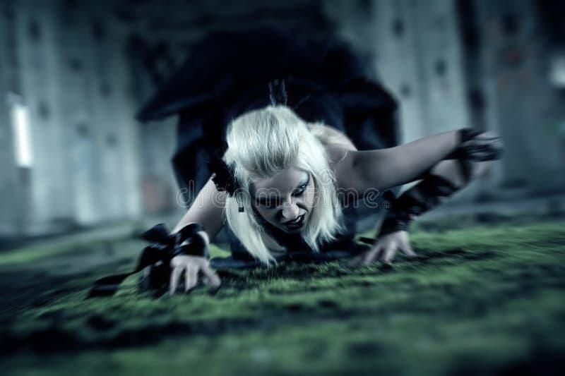 Femme gothique photos libres de droits