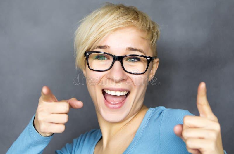 Femme heureuse images libres de droits