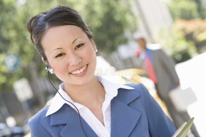 Femme heureuse d'affaires photo libre de droits