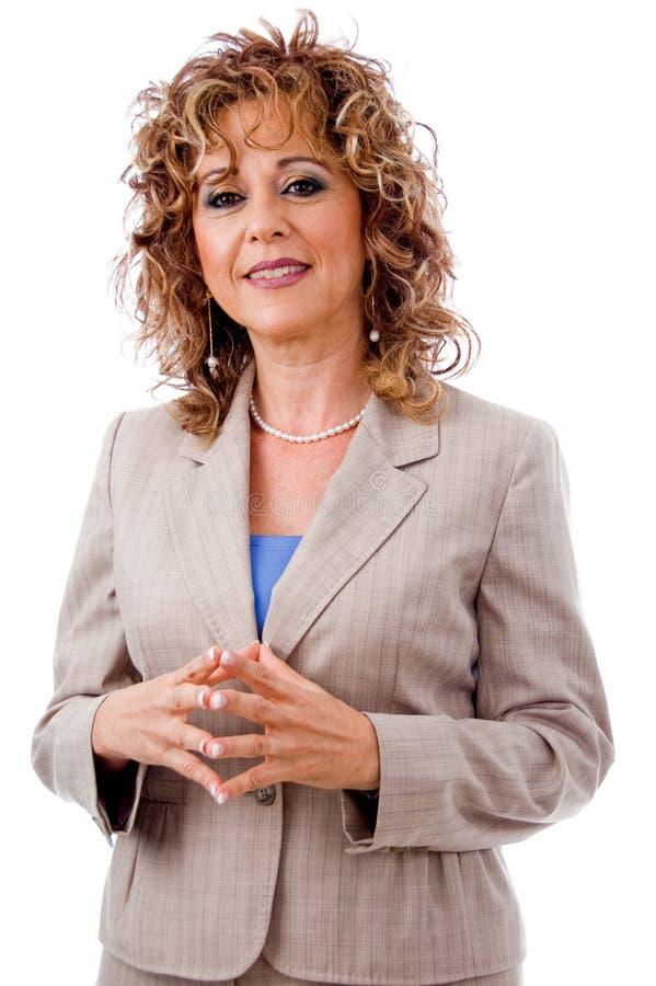 femme heureuse de corporation photos libres de droits
