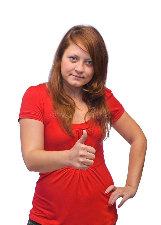 Femme heureuse de sourire photos libres de droits