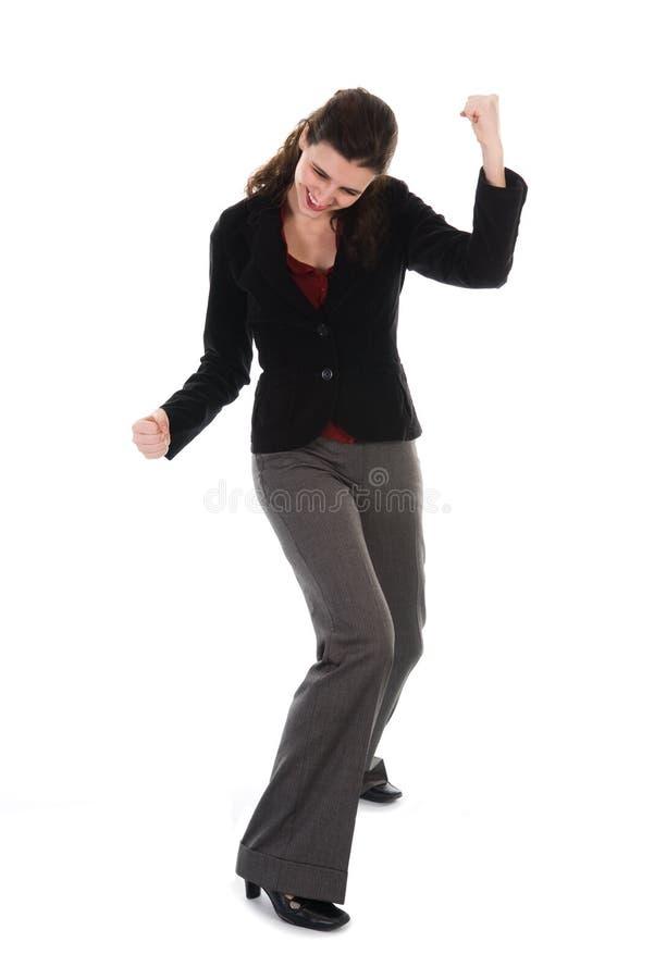 Femme heureux photo stock