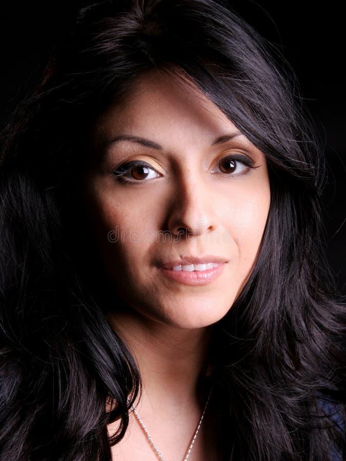 Femme hispanique images libres de droits