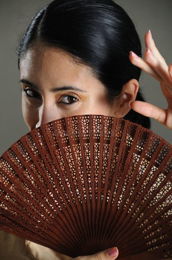 femme hispanique image stock