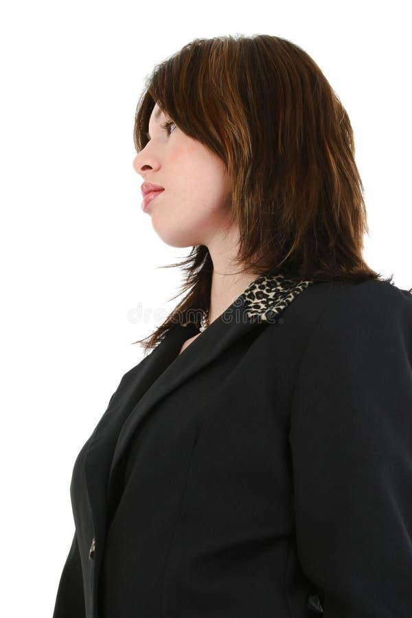 Femme hispanique d'affaires image stock