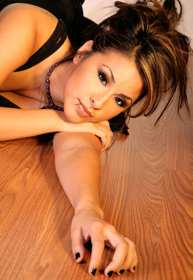 Femme hispanique sexy images stock