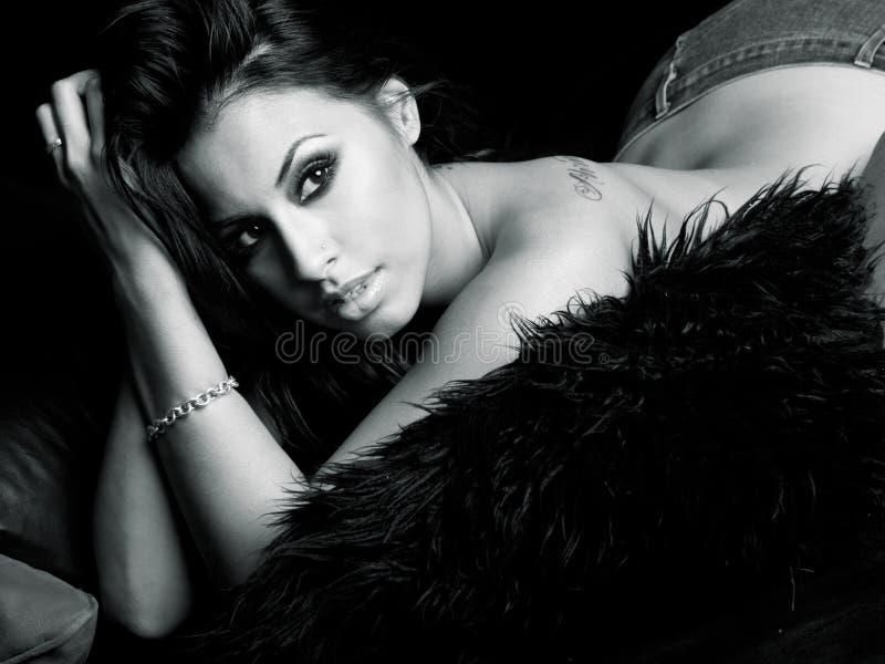 Femme hispanique sexy images libres de droits