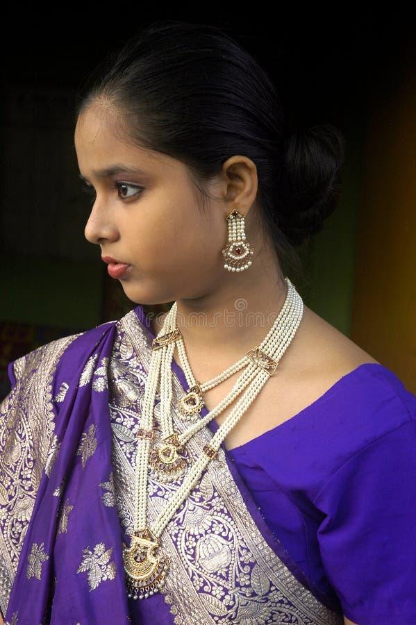 Femme indien. images stock