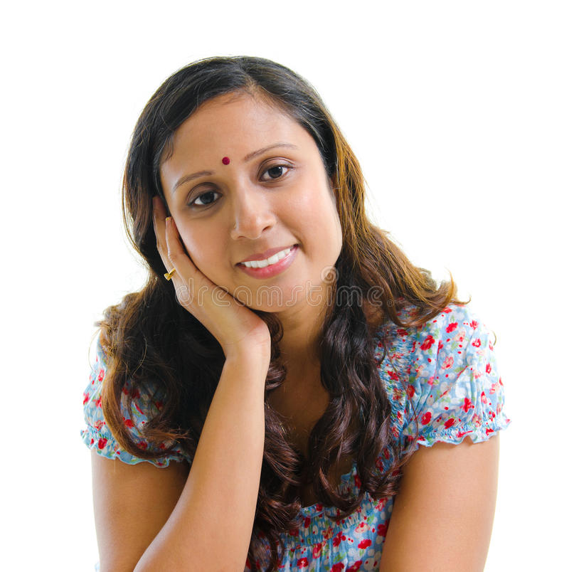 Femme indienne moderne photos libres de droits