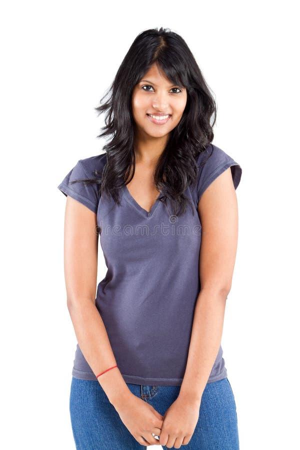 Femme indienne occasionnelle photo libre de droits