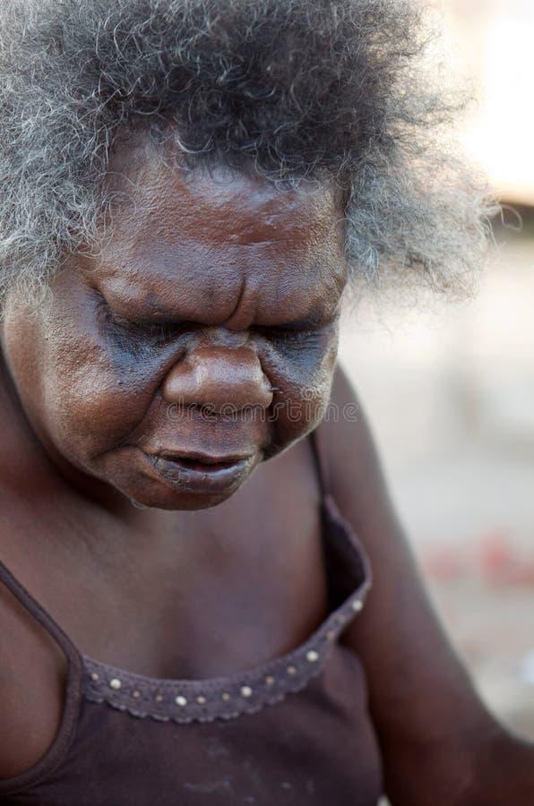Femme indigène photographie stock
