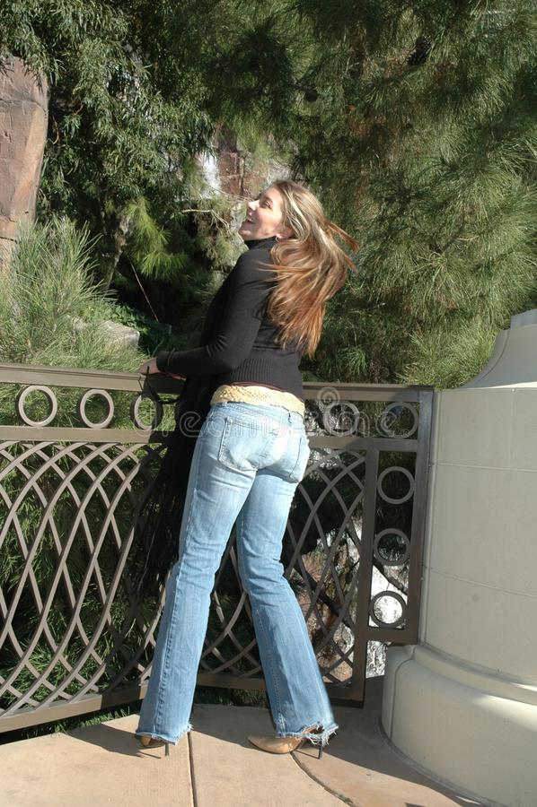 Femme insouciante photos stock