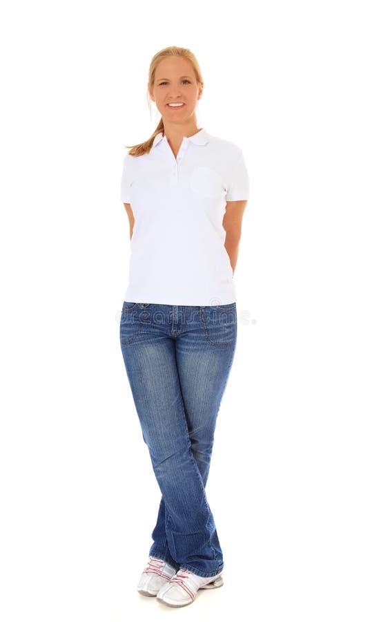 Femme intégral photo stock