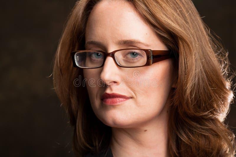 Femme intelligent images libres de droits