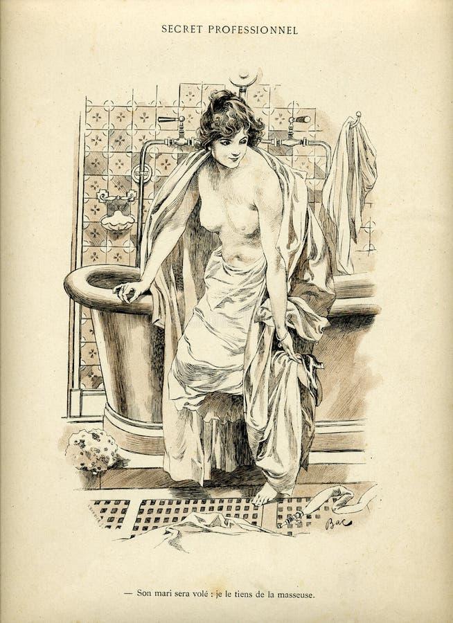 femme intime Λα απεικόνιση αποθεμάτων