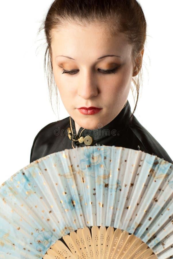Femme japonais. photographie stock libre de droits