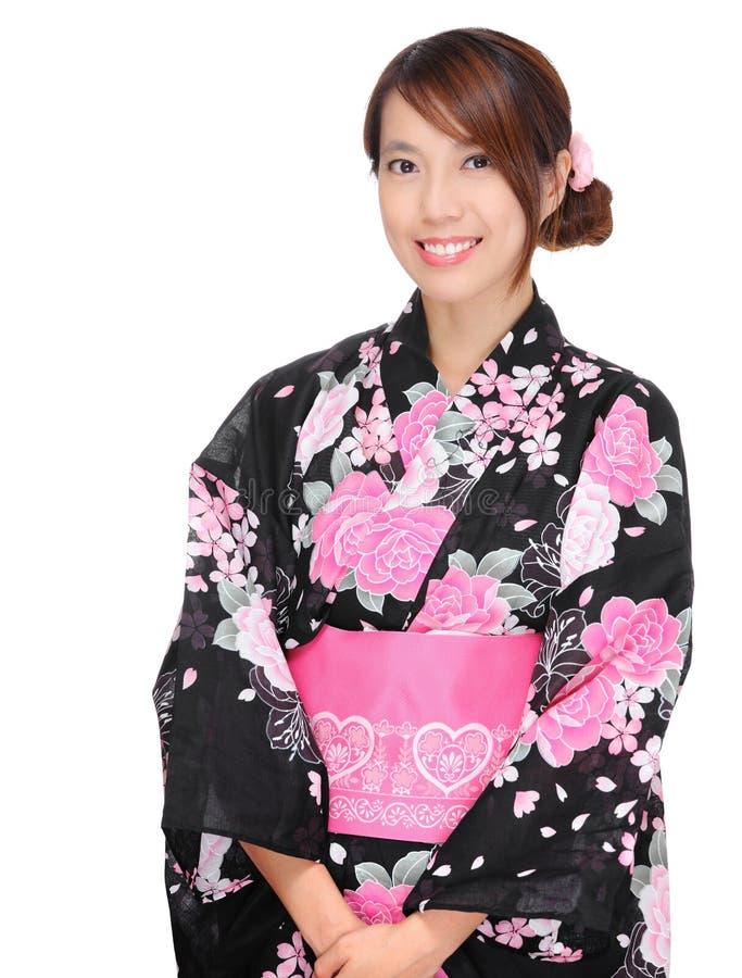 Fabuleux Femme Japonais Avec Le Vêtement Traditionnel Photo stock - Image  EL28