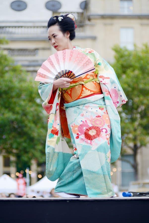 Femme japonaise photo libre de droits