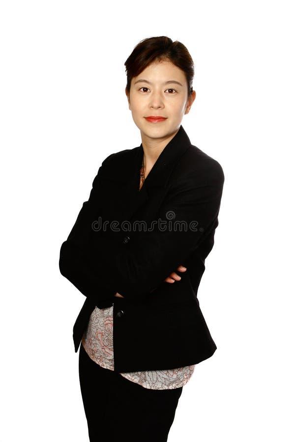 Femme japonaise confiante photos libres de droits