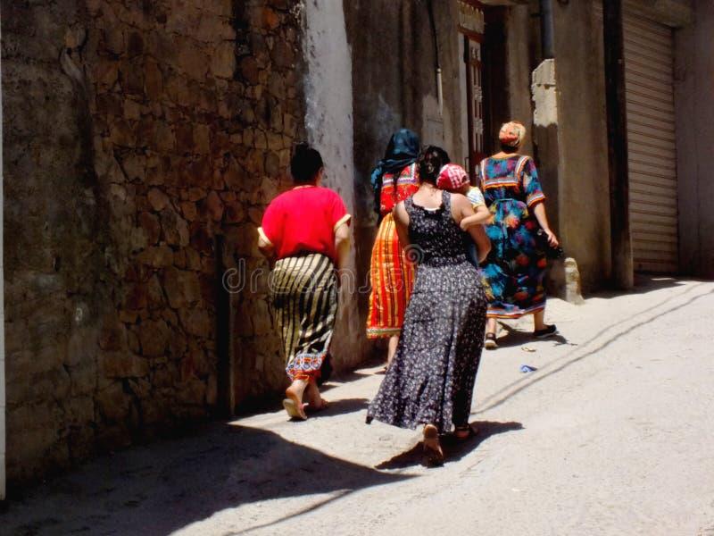Femme kabyle royalty-vrije stock afbeelding