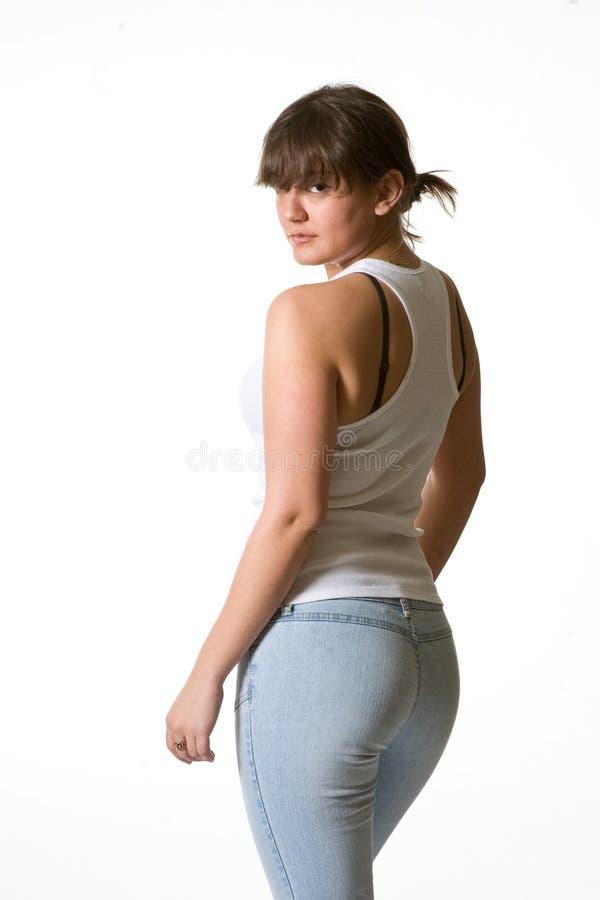 Femme latine sexy image stock