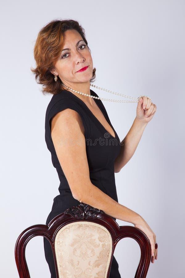 Femme mûr photos libres de droits