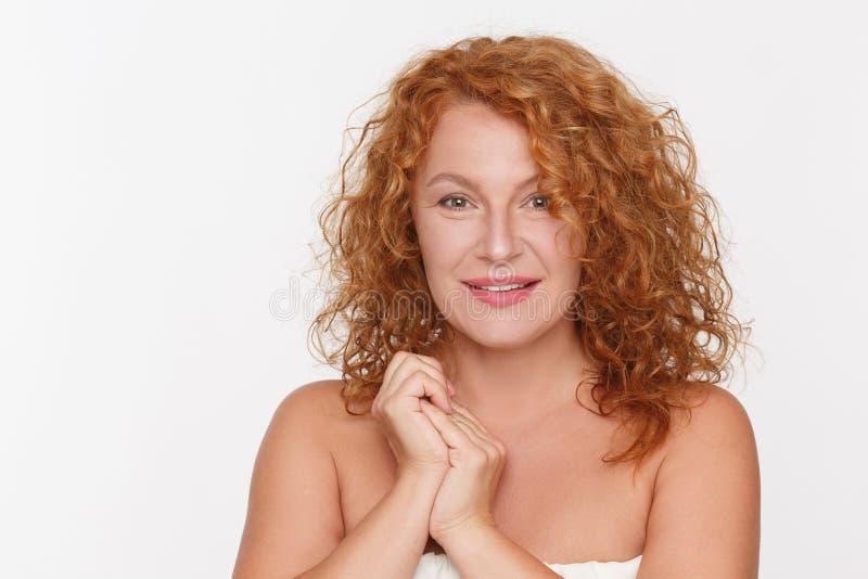 Femme mûre naturelle photos stock
