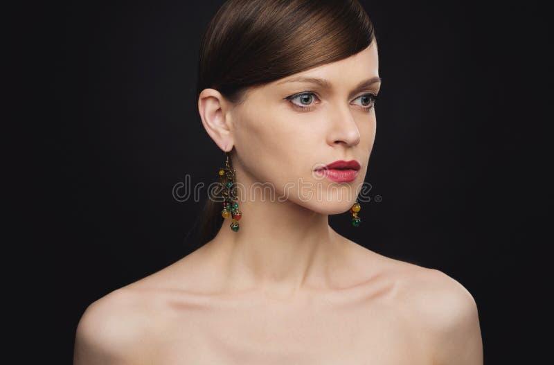 Femme magnifique et sexy photo stock