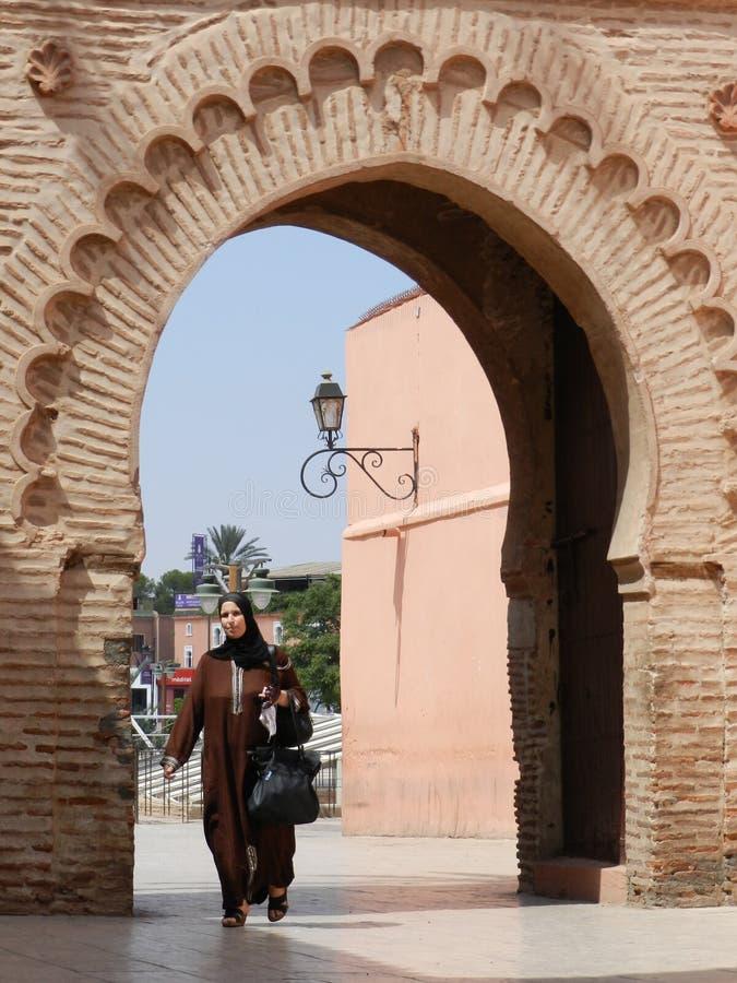 Femme marocain photo libre de droits