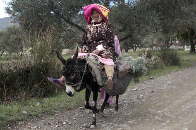 Femme marocaine image stock