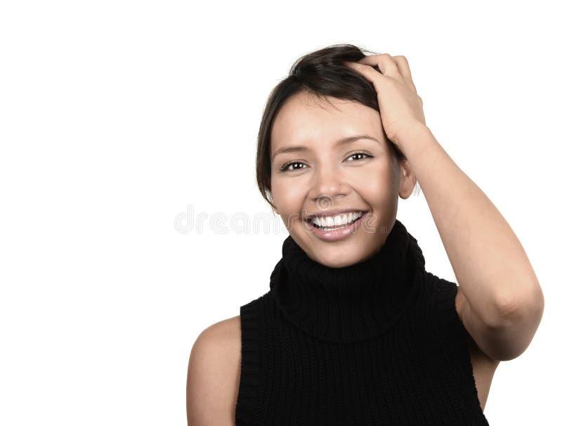 Femme mignonne de latino photographie stock