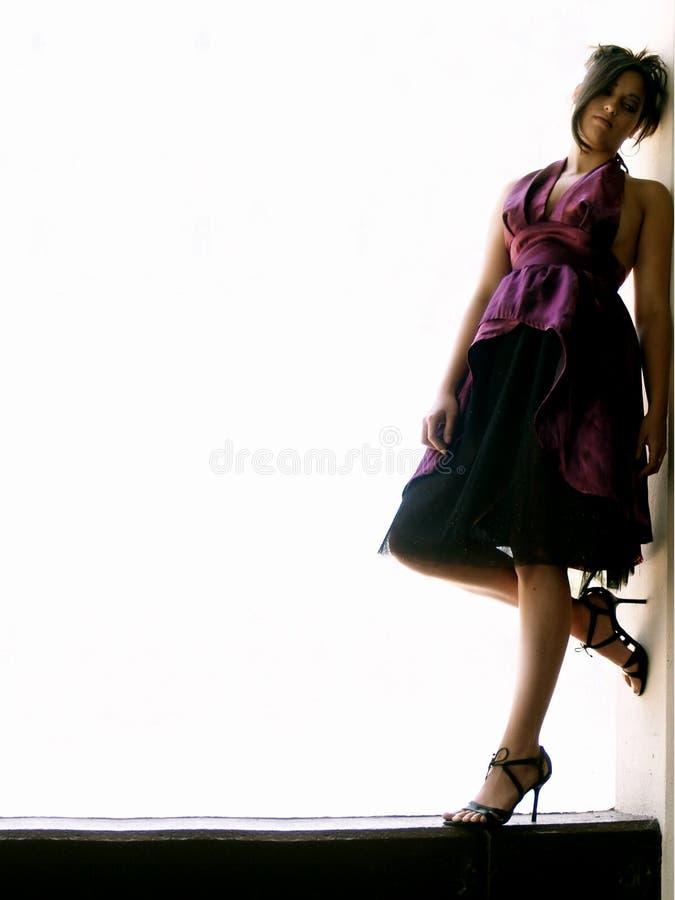 Femme moderne photo stock