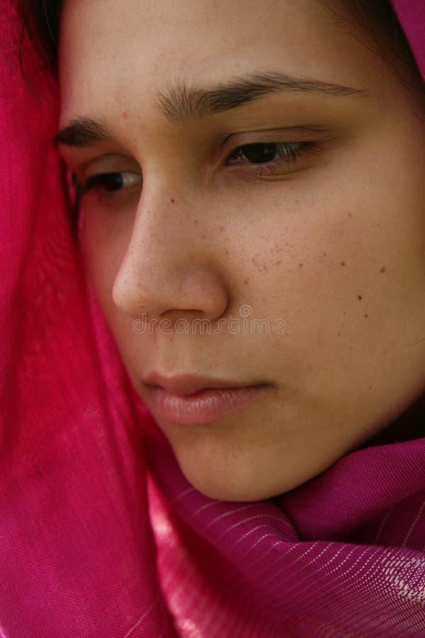 Femme musulman image libre de droits