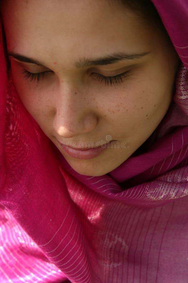 Femme musulman images stock