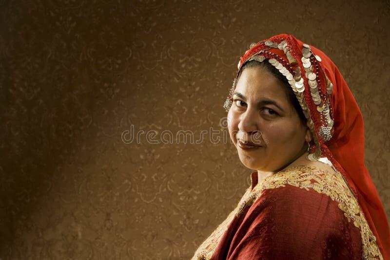 Femme musulman image stock