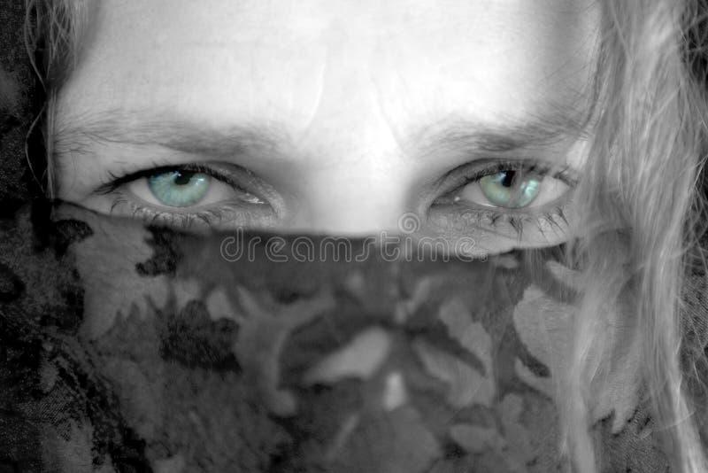 Femme mystérieuse (3) photographie stock