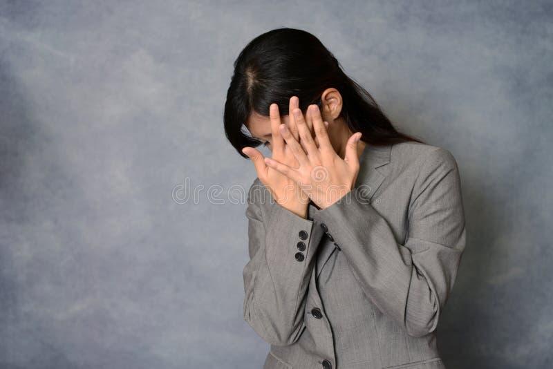 Femme ne disant aucune photo images libres de droits