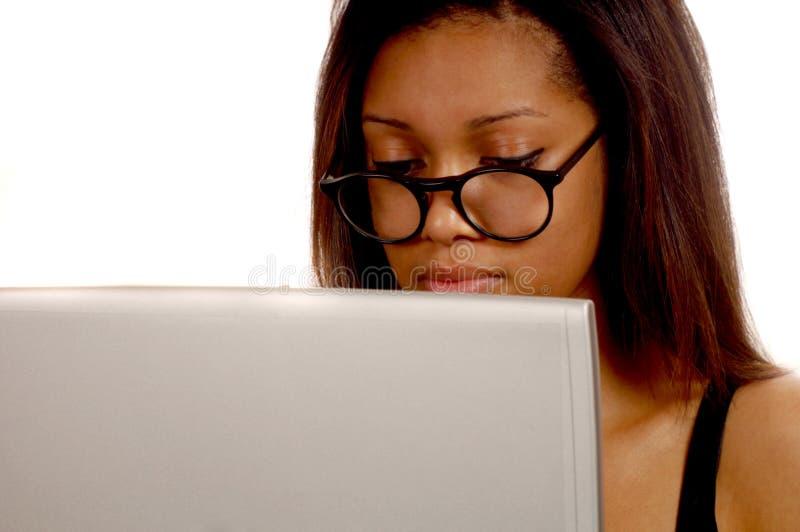 Femme noire d'affaires photos libres de droits
