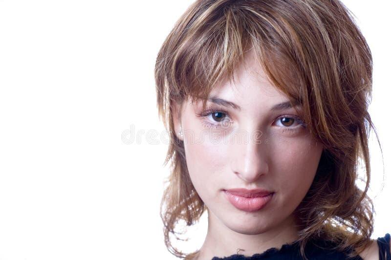 femme normale de beauté image libre de droits