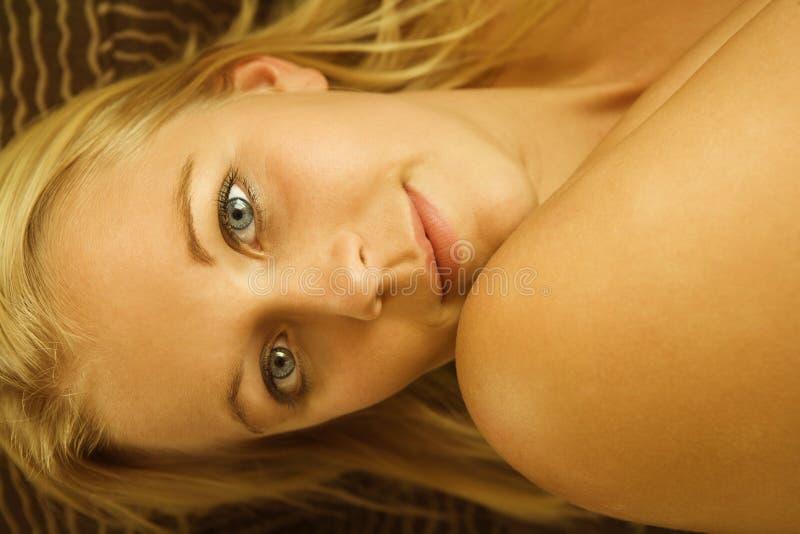 Femme nu. image libre de droits
