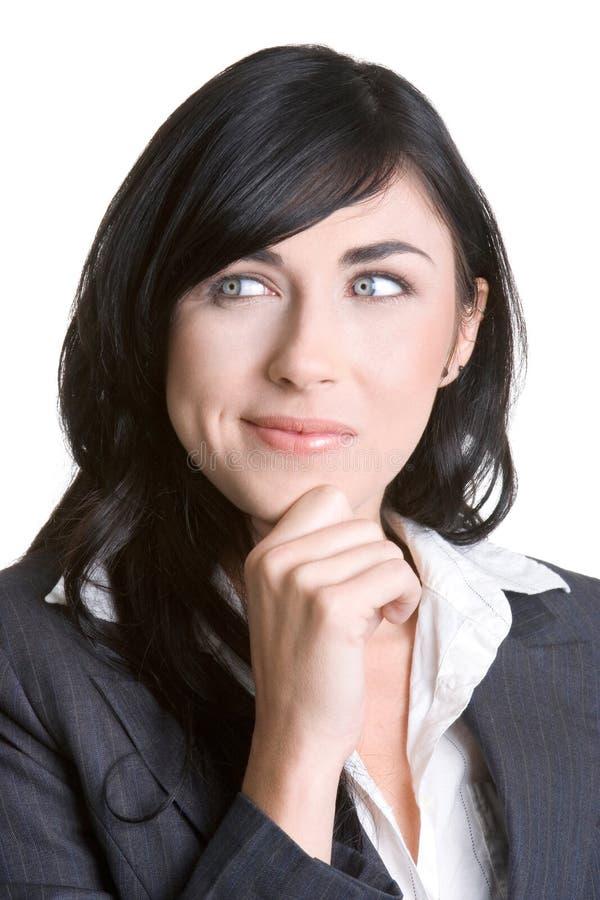 Femme pensant photos stock