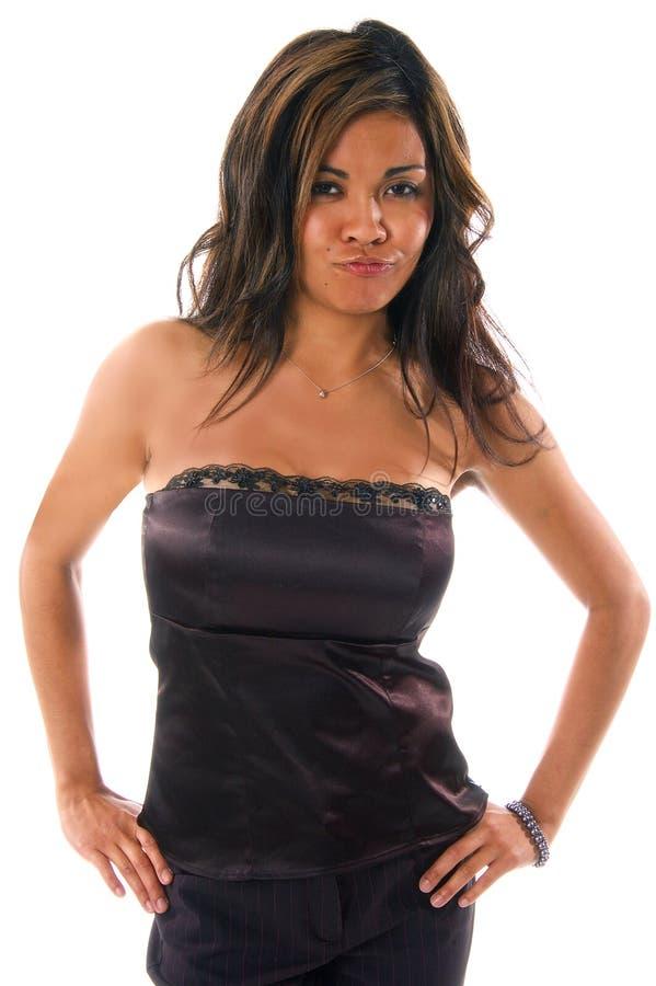 Femme philippin sexy du femme photo libre de droits