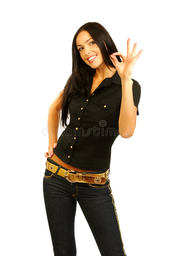 Femme réussi images stock