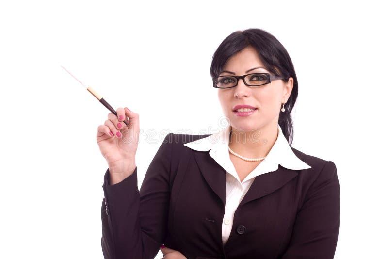 Femme réussie d'affaires images libres de droits