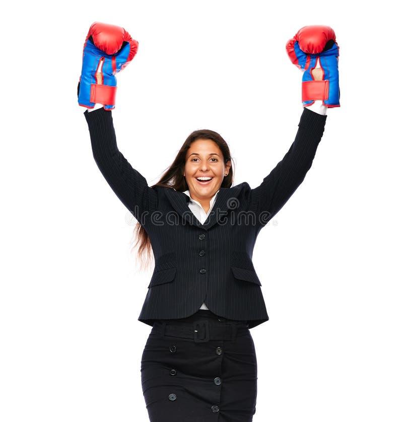 Femme réussie d'affaires photo stock